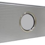 Apvalus nerūdijančio plieno rėmo langas, grūdintas stiklas. Skersmuo: 315mm, 235 mm, 155 mm.
